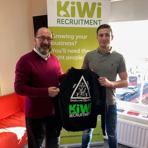 Kiwi announces sponsorship of local MMA Fighter Ashley Kilvington